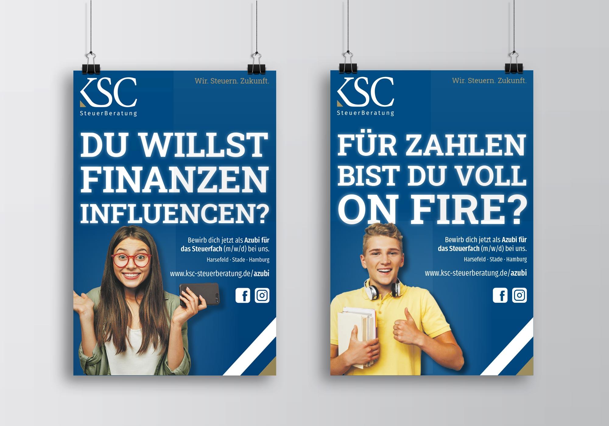 KSC Azubi Kampagne